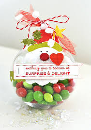 another adorable plastic ornament idea for fill with their
