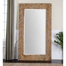 Home Interiors Mirrors Coastal Wall Mirrors August Grove Coastal Weathered Gray Wall