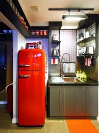 Kitchen With Red Appliances - 25 modern ideas to make kitchen design dynamic and unique with red