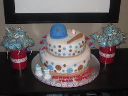 Baby Shower Cakes Houston Texas Baseball Baby Shower Cake Baseball Baby Shower Cake Pinterest