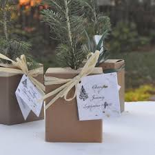 fall wedding favors plant fall wedding favors plant a memory favors gifts