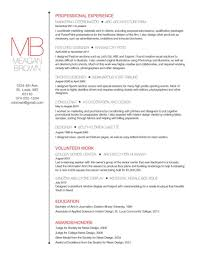 resume cherin perelman resume format with example cv
