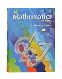icse mathematics for class 8 by asit das gupta english bharati