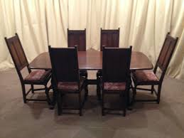 Black And Cream Dining Room - indoor chairs 6 dining room chairs black dining table and chairs
