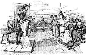 schooling in the colonial period did not just take place in the