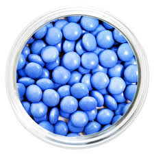 gems candy coated chocolate gems powder blue bulk candy store