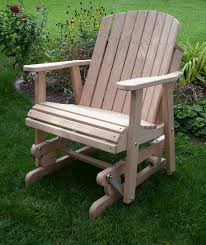 Wood Lawn Chair Plans Free by Adirondack Glider Chair Plans Woodworking Projects U0026 Plans