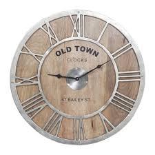 Grande Horloge Murale Carrée En Bois Vintage Achat Horloge Murale Bois Achat Horloge Murale Bois Pas Cher Rue Du
