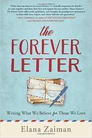 the forever the forever letter writing what we believe for those we