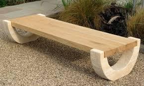 curved garden bench australia landscaping gardening ideas