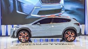 subaru crossover blue sporty rugged subaru crosstrek concept debuts in north america