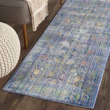 amazon com safavieh valencia collection val108m blue and multi
