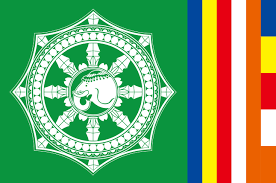 Green Day Flag File International Buddhist Day Flag Jpg Wikimedia Commons
