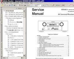 sony service manuals service manual