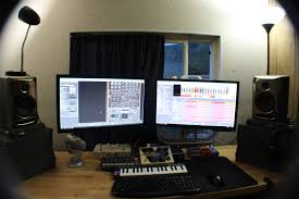 Studio Monitor Desk Stands by Post A Pic Of Your Studio Page 12 Reasontalk Com