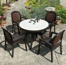 Patio Furniture Sets Sale by Resin Patio Table With Umbrella Glf Home Pros Furniture Sets