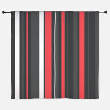 Orange And White Striped Curtains Vertical Stripes Orange And White Window Curtains U0026 Drapes