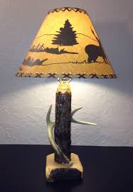 Antler Table Lamp Rustic Antler Lamps