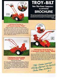 any troy bilt tiller guru s out th yesterday u0027s tractors