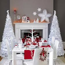 Xmas Home Decorations White Christmas Decorating Ideas Family Holiday Net Guide To