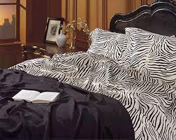 Zebra Print Bedroom Sets Animal Print Bedding Satin Animal Prints Zebra Bedding