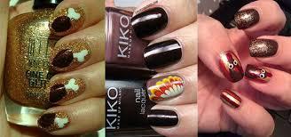 easy thanksgiving nail designs ideas 2013 2014