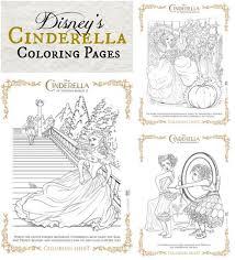 disney u0027s cinderella activity sheets coloring pages