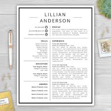 Best Word Resume Template 12 Best Resume Cv Templates Images On Pinterest Cover Letters