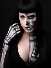 Skeleton Halloween Makeup by Womens Skeleton Makeup 20 Of The Creepiest Halloween Makeup Ideas