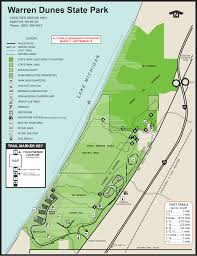 Warren Michigan Map by Warren Dunes State Parkmaps U0026 Area Guide Shoreline Visitors Guide