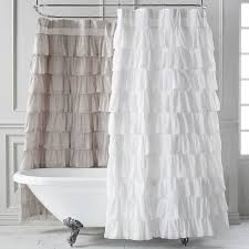 Ruffled Shower Curtains The 12 Most Beautiful Shower Curtains Photos Architectural Digest
