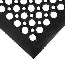 Commercial Floor Mats Cactus Mat 2530 C5bx Vip Topdek Junior 3 U0027 X 5 U0027 Black Rubber Anti