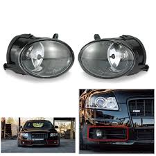 audi a6 fog light bulb one pair of car front right and left fog lights l bulb for audi