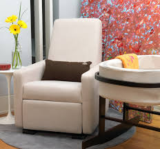 small upholstered glider rocker home chair designs in nursery