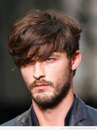 the inspirations of hairstyles for men with thick hair simple