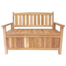 Garden Storage Bench Wooden Cream Colored Storage Bench
