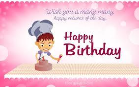 beautiful birthday greetings card psd for free freebie