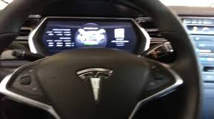 electric cars tesla tesla model s interior electric luxury car youtube