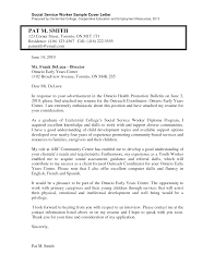 Sle Resumes And Cover Letters resume exles templates cover letter for social worker entry