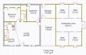Garage Plans With Living Quarters House And Barn Combination Plans Chuckturner Us Chuckturner Us