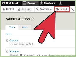 theme drupal menu block how to make a drupal 8 theme 10 steps with pictures wikihow