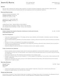 Military To Civilian Resume Examples by Military To Civilian Resume Samples