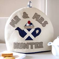 Scottish Flag Tattoo Personalised Scottish Flag Tea Cosy By Milly And Pip