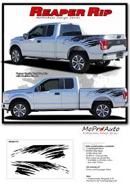 Ford F150 Truck Decals - rip 4x4 side truck bed vinyl graphic stripe 3m decal 2015 2016