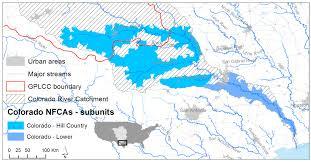 Colorado River Map by Colorado River Native Fish Conservation