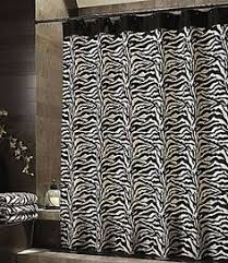 black and white zebra shower curtains target cortinas y ropa de