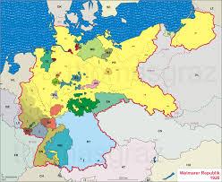 Map Of Europe 1919 by B U003egermany U003c B U003e U003cb U003eweimar U003c B U003e Republic 1920 Modern Europe