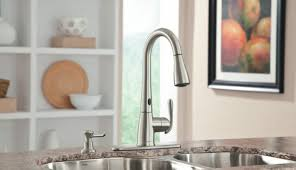 moen touch kitchen faucet faucet 7565ec in chrome by moen touchless kitchen 24