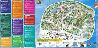 Map 0f America by Great America Six Flags Great America Theme Park Map Theme Parks