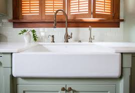 Dining  Kitchen Cool Ways To Install Farmhouse Sinks To Your - Kohler corner kitchen sink